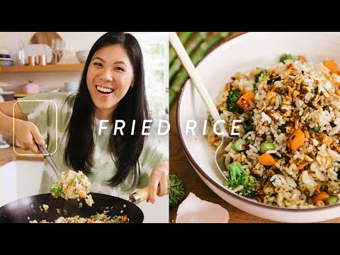 The Most Delicious VEGGIE FRIED RICE You've Ever Had | COOK WITH ME Episode 17