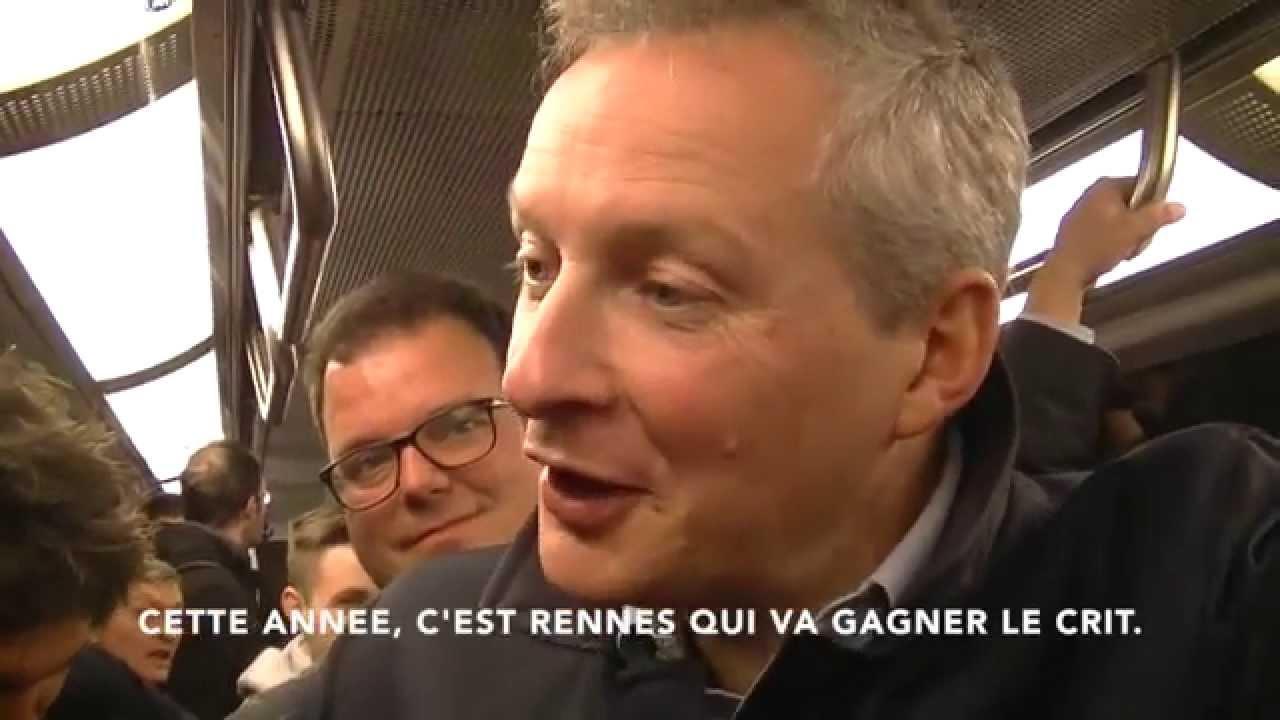 Bruno Le Maire - Interview - Elections départementales