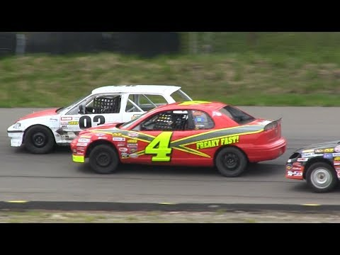 Thunder Valley Speedway - Hobby Stock Qualifying Race #1