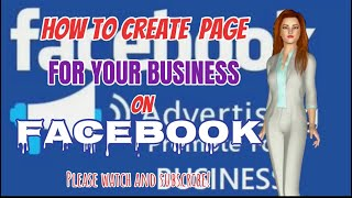 How To Create Page On Facebook (English Subtitle)