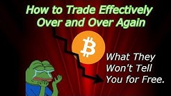 How to Trade Bitcoin and Cryptocurrency Effectively. FREE Trading Secrets!