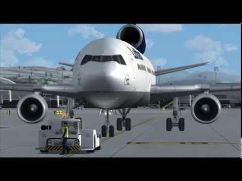 PMDG MD11 Multi Crew Experience Triple Crewed Zurich to Dusseldorf