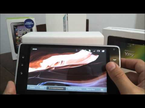Tablet Huawei Ideos S7 (modelo 106) review