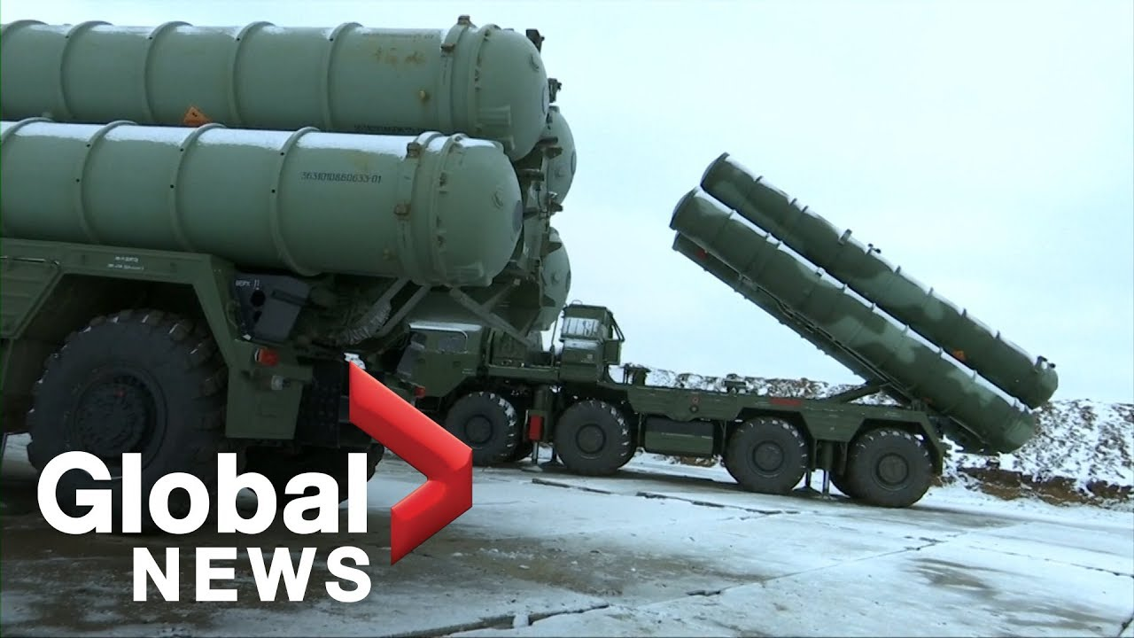 Russia deploys new S-400 missile system in Crimea - YouTube