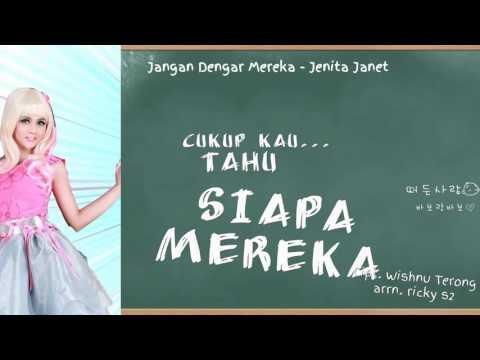 Jenita Janet - Jangan Dengar Mereka [ official video lyrics ]