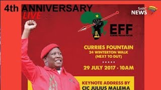 EFF's 4th anniversary celebrations, Durban: 29 July 2017