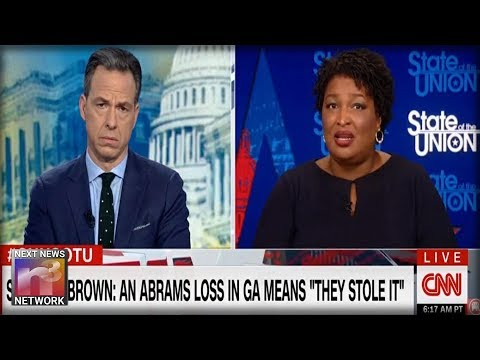 SORE LOSER! Stacey Abrams Makes WILD ACCUSATION Against GOP Governor-Elect, She's LOST HER MIND!