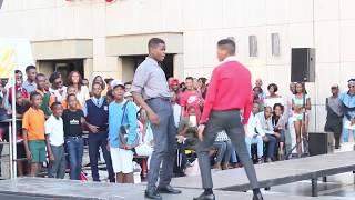 Limpopo boy takes on School Kids Bujwa Dance Battle