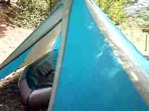 & Megalight Tent with Alpacka Dory inside plenty of room - YouTube