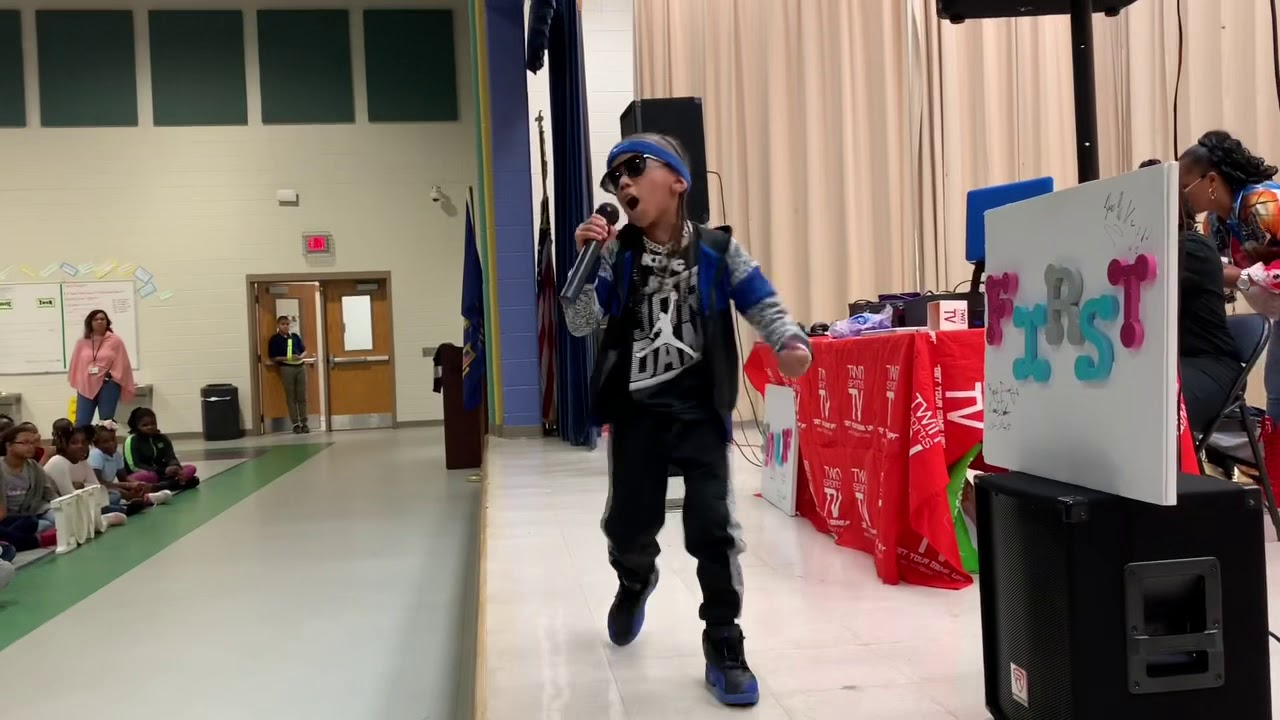 Download SCHOOL TOUR VLOG  KD DA KID PERFORMS AT DOBBS ELEMENTARY SCHOOL