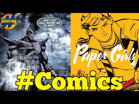 DeathStorm Comes to Flash and Paper Girls #4 | Comics News & Reviews | That Hashtag Show