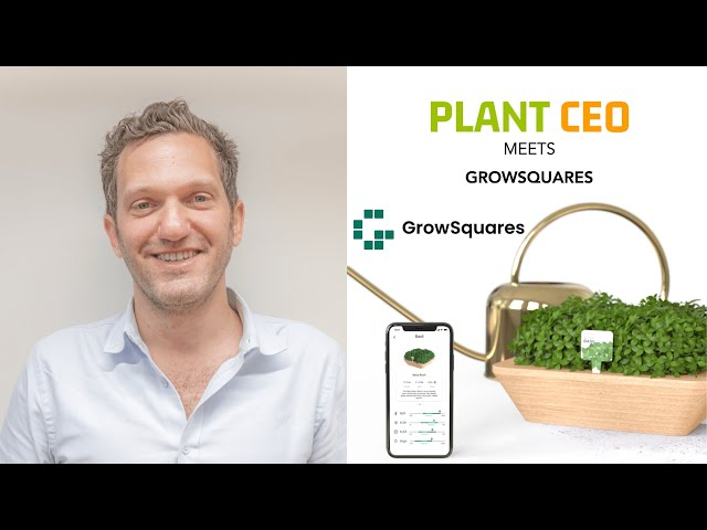 PLANT CEO #19 - Urban farming with GrowSquares