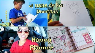 vin el hada madrina como voy con mi happy planner septiembre 6 17 isabelvlogs