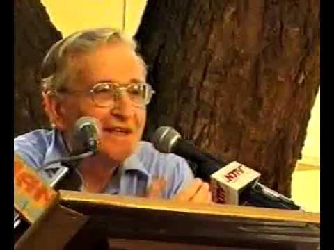 Noam Chomsky in New Delhi, 2001, Q and A (Part 3)