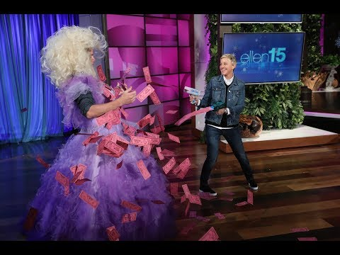 Channing Tatum Lets It All Go for Ellen
