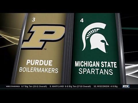 Purdue at Michigan State - Men