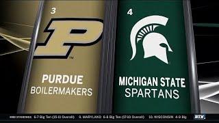 Purdue at Michigan State - Men's Basketball Highlights