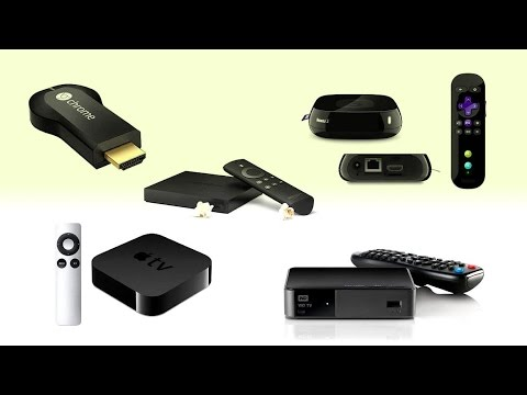 Top 5 Best Netflix Streaming Boxes  Google Chromecast, Fire TV, Roku 3, Apple Tv, WD TV Live