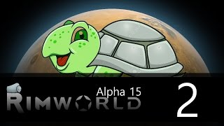 Rimworld - Alpha 15 - Lone Survivor Challenge - Episode 2 - Combat in slow-mo
