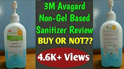 3M Avagard Anti Septic Solution CHG Handrub Review| Hand hygiene | Best Hand Sanitizer | 3M Handrub