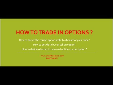Hwo to trade options