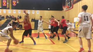 tupper tigers vs wj mouat quarter finals