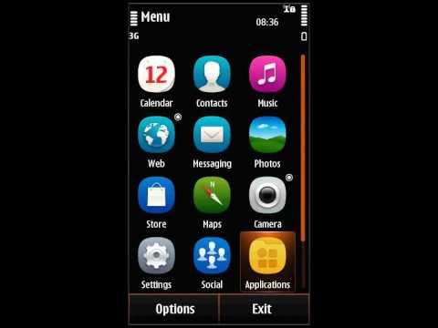 Nokia 500 OVI chat