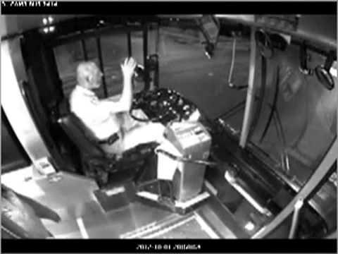 Kid Sucker Punches Bus Driver in Kansas City.oct 2012