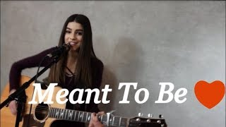 MEANT TO BE - Bebe Rexha ft. Florida Georgia Line - Cover by Hailey Benedict