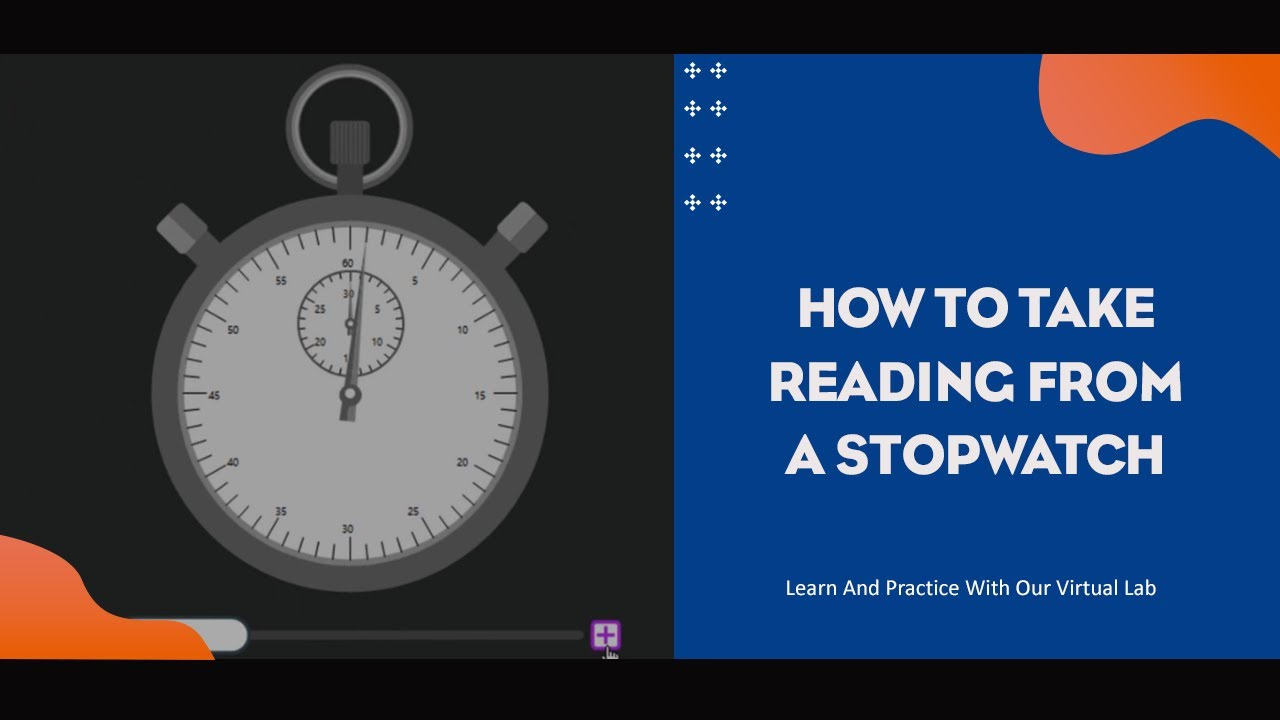 Download HOW TO TAKE READING FROM A STOPWATCH