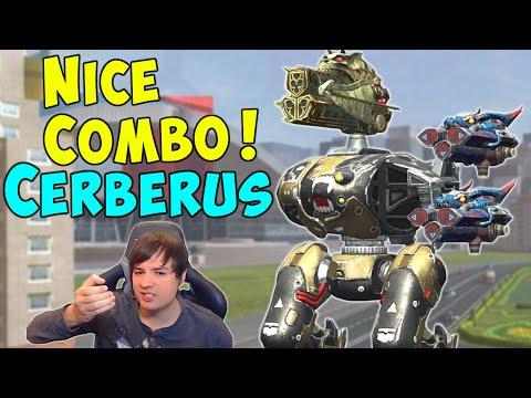NEW CERBERUS Beast Combo GLACIER & CRYO - War Robots Mk2 Gameplay WR