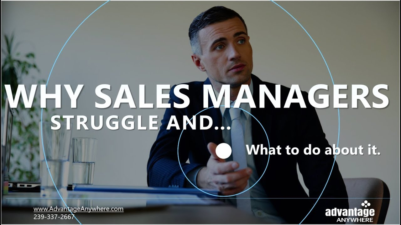 Why Sales MANAGERS Secretly Struggle - and how high performance organizations overcome it
