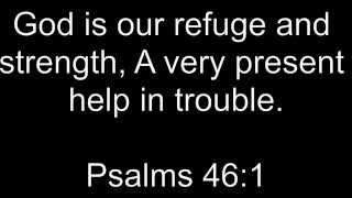 Psalm 46:1- Soaking Worship Instrumental