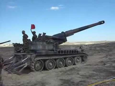 M-110 Howitzer Action!!!