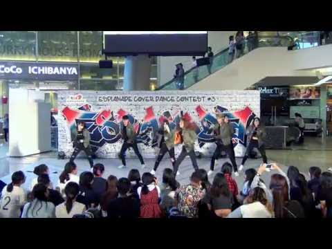 160717 [Wide] MVP cover KPOP - Intro + Fire (BTS) @ Esplanade Cover Dance#3 (Audition)