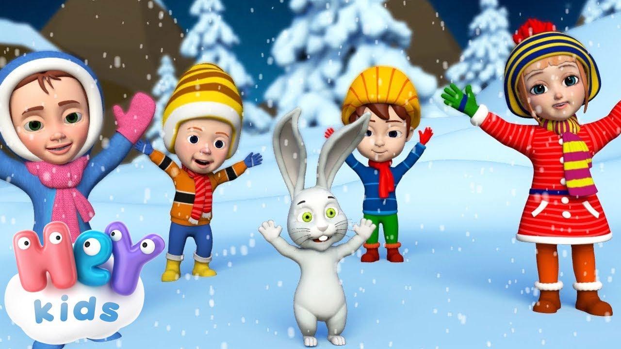 Новогодние Детские Песни — Здравствуй, гостья зима!