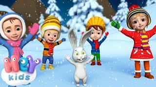 Новогодние Детские Песни Здравствуй гостья зима