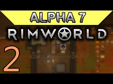 Exotic Goods Trading | Rimworld Alpha 7 Gameplay Part 2