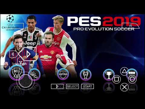 Download PES 2019 PPSSPP TOP GRAPHICS PS4 ANDROID 600MB (HD GAMES )