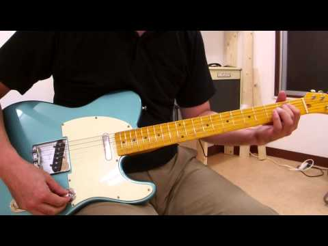 Component Telecaster (W.D MUSIC Neck & Body)Demo②和音弾き