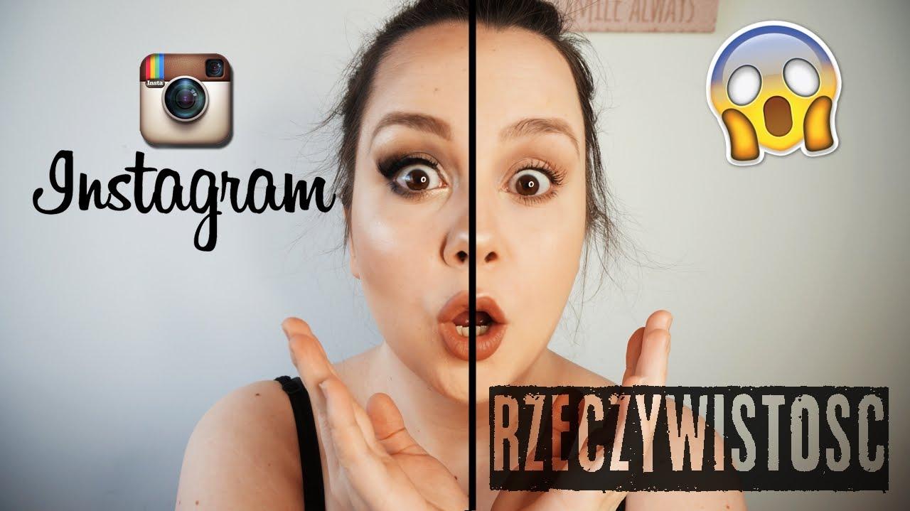 Makijaż Dzienny Instagram Vs Rzeczywistośćgabrysiaa Youtube