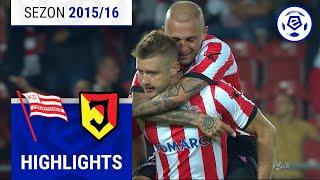 Cracovia - Jagiellonia Białystok 1:1 [skrót] sezon 2015/16 kolejka 06