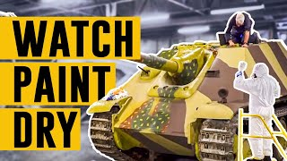 Watch Paint Dry: The Jagdpanther! | The Tank Museum