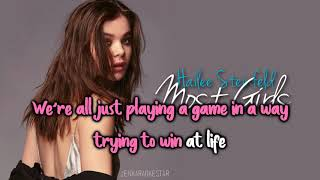 Hailee Steinfeld - Most Girls [Karaoke/Instrumental]