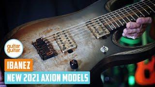 NEW Ibanez Axion Label 2021 Models   A Closer Look