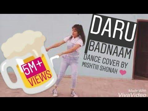 Daru badnaam Dance cover by mishtiii shonah