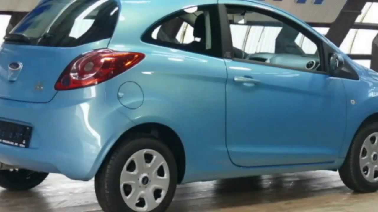 ford ka trend 2011 scuba blau metallic ltruaa43698 www. Black Bedroom Furniture Sets. Home Design Ideas