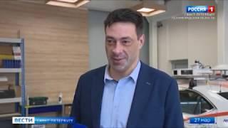 [Россия 1] Беспилотные автомобили скоро появятся на улицах Петербурга