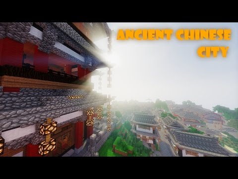 Minecraft Ancient Chinese City! (With map download!)