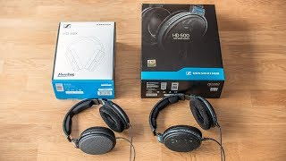 Sennheiser HD58X Jubilee vs HD600 - sound comparison